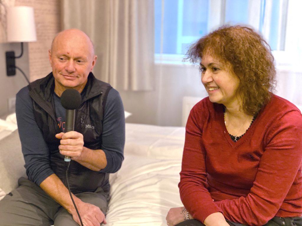 eter Wahl (Left) and Nesrin Tyurksyoz (Right) on Elternseminar and Rucksack program, Germany