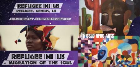 refugeenius exhbition at Oslo afro arts festival